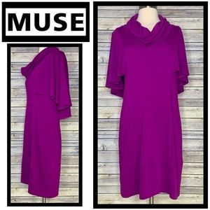 Just In! Muse Cowl Neck Dress, Sz 10